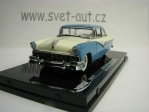 Ford Fairlane Hard Top 1956 Blue White 1:43 Vitesse 36274